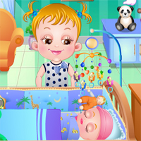 Free online flash games - Baby Hazel New Born Vaccination game - chicksgames