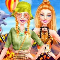 Free online flash games - Ellie Safari Adventure game - chicksgames