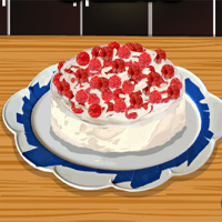 Free online flash games - Raspberry Cream Cake Cookinggames game - chicksgames