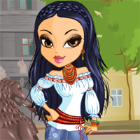 Free online flash games - Katerina Ukrainian Beauty game - chicksgames