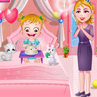 Free online flash games - Baby Hazel Birthday Party TopBabyGames game - chicksgames