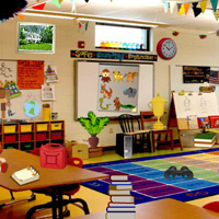 Messy Classroom Hidden Objects