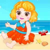 Free online flash games - Baby Ocean Acccident DoraGames game - chicksgames