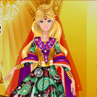 Free online flash games - Barbie In India game - chicksgames