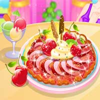 Free online flash games - Mother and Daughter Plum Tart Cooking game - chicksgames