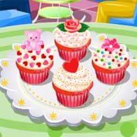 Free online flash games - Red Velvet Cupcakes TopCookingGames game - chicksgames