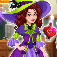 Free online flash games - Olivias Magic Potion Shop Girlg game - chicksgames