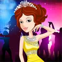 Free online flash games - Queen of the Disco game - chicksgames