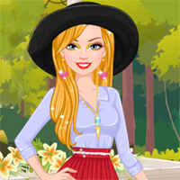 Free online flash games - Ellie Loves Pleated Skirts Capy game - chicksgames