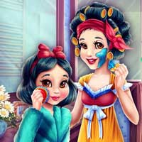 Free online flash games - Snow White Mommy Real Makeover GirlG game - chicksgames