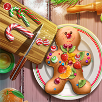 Free online flash games - Gingerbread Realife Cooking game - chicksgames