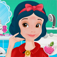 Free online flash games - Snow Whites True Kiss Story Capy game - chicksgames