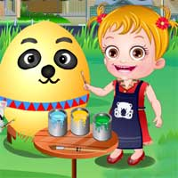 Free online flash games - Baby Hazel Easter Fun game - chicksgames