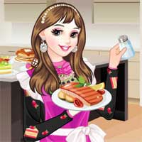 Free online flash games - Princess Chef game - chicksgames