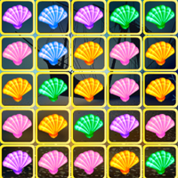 Free online flash games - Seashell Blocky Challenge game - chicksgames
