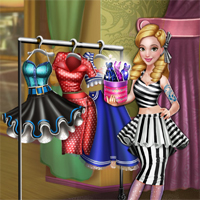 Free online flash games - Dove Pinup Dolly Dress Up game - chicksgames