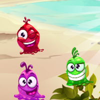 Free online flash games - Monsters Match 3 game - chicksgames