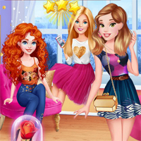 Free online flash games - Princess Confort Zone Challenge game - chicksgames
