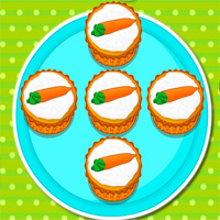 Carroty Hot Cupcakes GamesMiracle