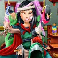 Free online flash games - Warrior Princess Hospital Recovery Girlg game - chicksgames