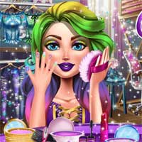 Free online flash games - Glam College Makeover Girlhit game - chicksgames